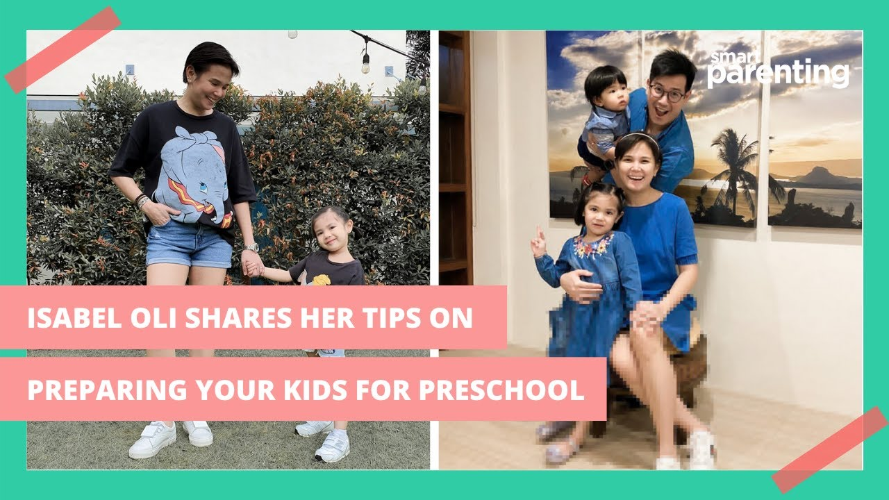 Isabel Oli Shares Her Tips And Learnings On How To Prepare Your Kids For Preschool