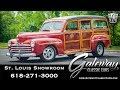 1948 Ford Woodie Wagon   Gateway Classic Cars St. Louis  #8099