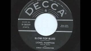 Blow Top Blues -  Lionel Hampton Sextet With Dinah Washington