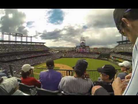 GoPro: Time lapse of a beautiful day at Coors Field in Denver, Colorado