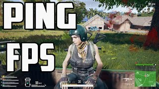 How To Check Your FPS And PING In PUBG