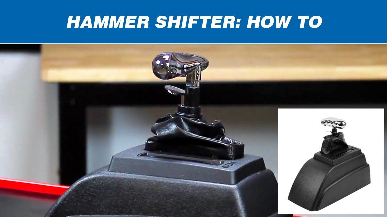 How To Shift A Bm Hammer Shifter Youtube