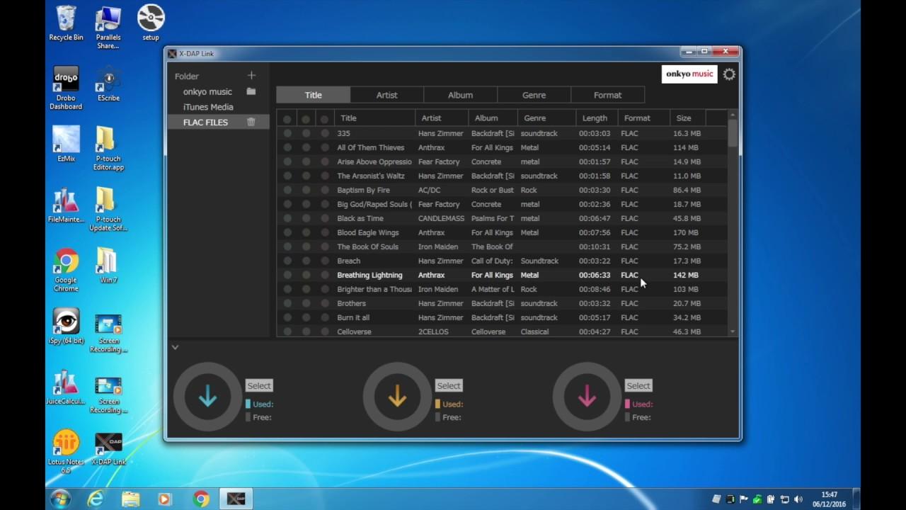 X DAP Link Software for the DP-X1