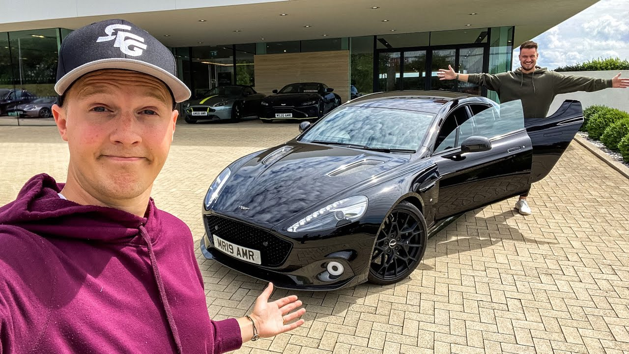 The 4-Door V12 SUPERCAR People FORGET! [Aston Martin Rapide AMR]