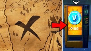 """X Marks The Spot"" Fortnite Season 8 Mystery SOLVED!! (SECRET Loot Chest Location)"
