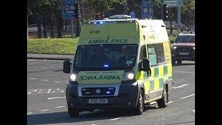 North West Ambulance Service / 2011 Fiat Ducato / Responding