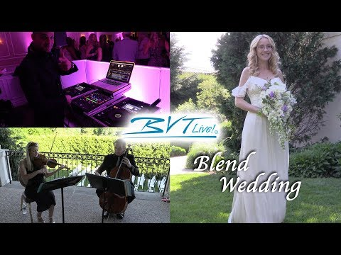 Popular Blended Music Wedding at The Manor House