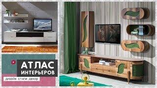 видео Дизайн стены под телевизор: варианты оформления