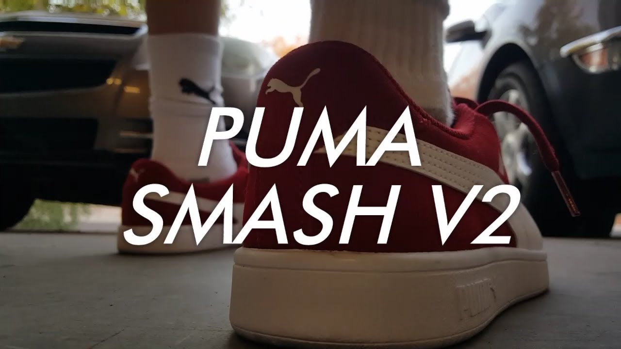 | PUMA Men's Smash V2 Buck Sneaker | Fashion Sneakers
