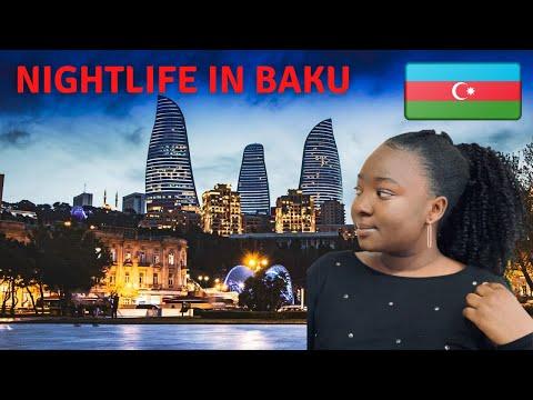 Nightlife in Baku Azerbaijan 🇦🇿