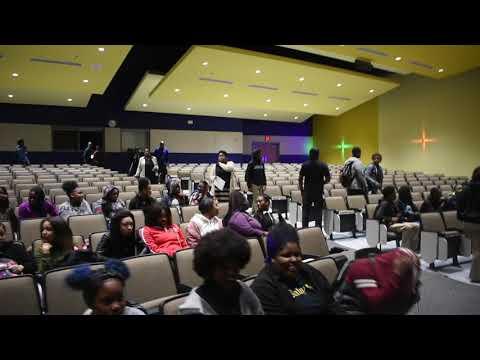 New Era Atlanta School Tour: Sylvan Middle school