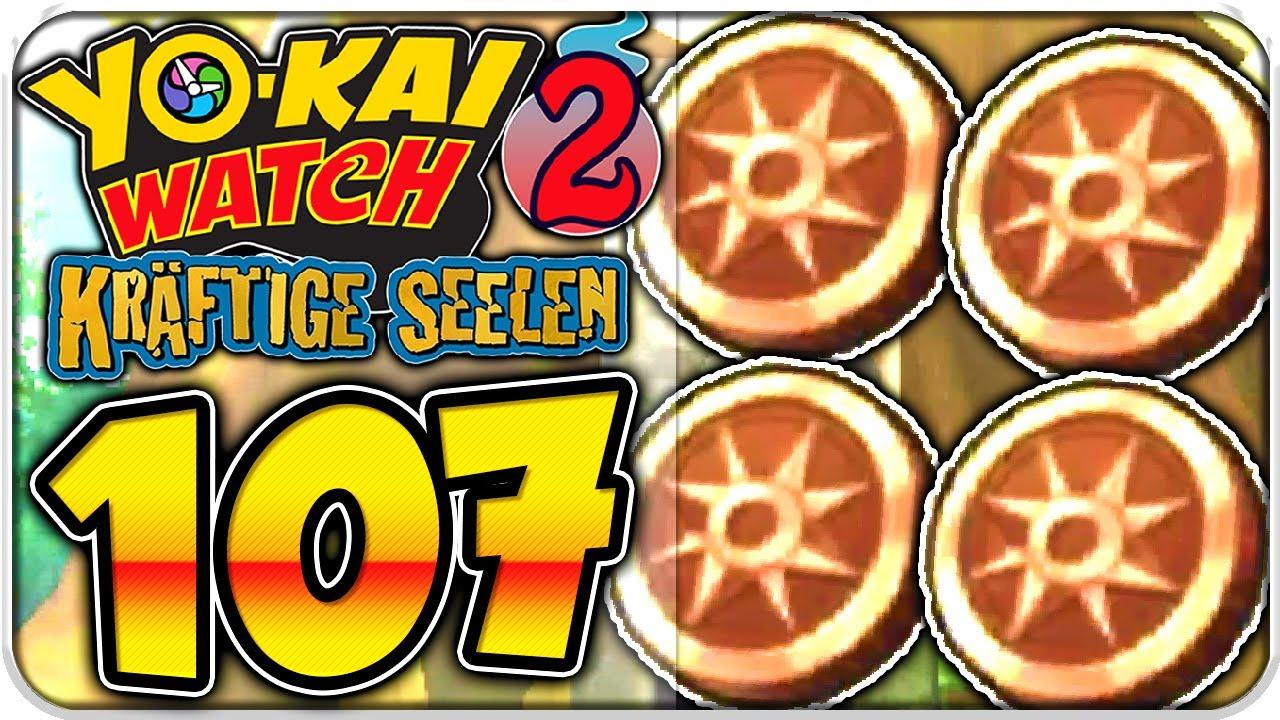Yo Kai Watch 2 Kräftige Seelen Part 107 Abenteurermünzen Farmen