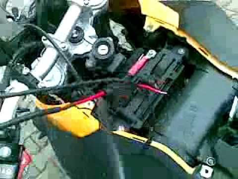 Conecting Garmin GPS to BMW F 800 GS - YouTube