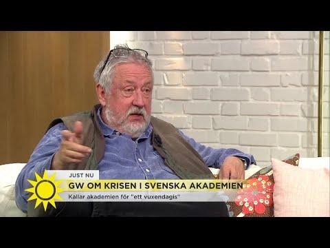 """Leif GW löser skandalen: """"Min dotter kan ta en plats i akademien""""  - Nyhetsmorgon (TV4)"""