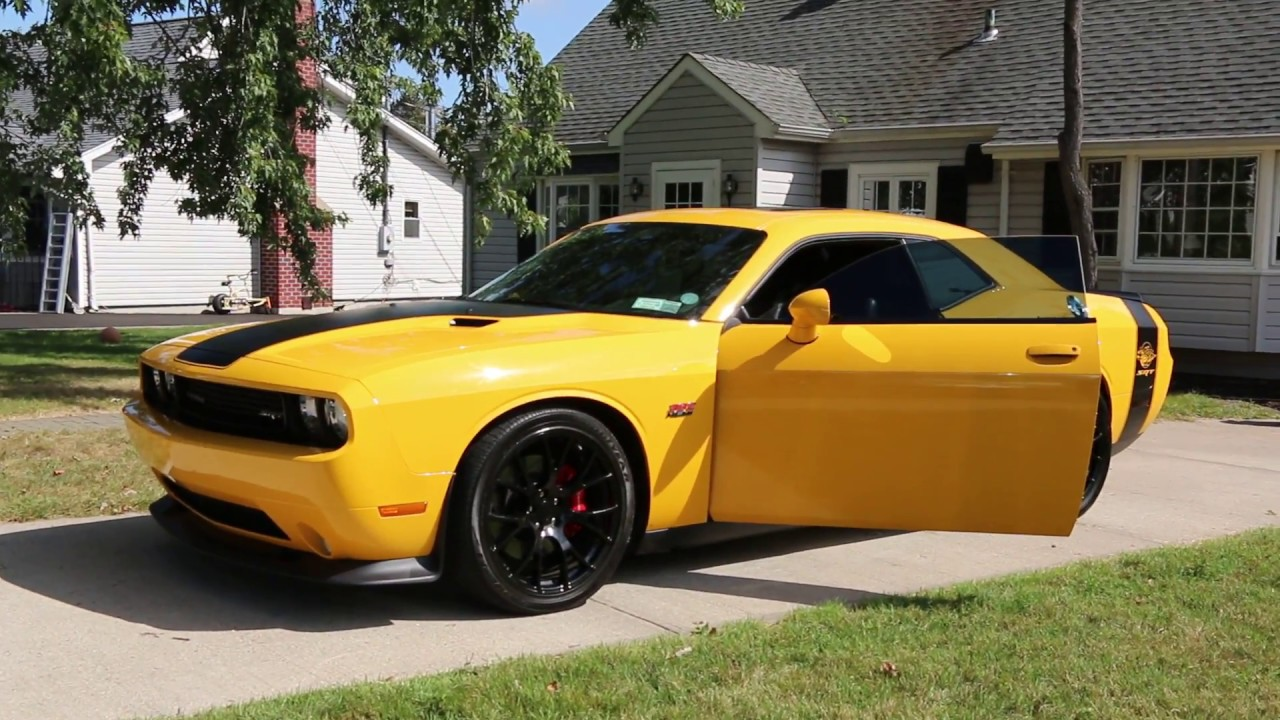 Sold 2012 Dodge Challenger Srt8 Yellow Jacket For Sale Exhaust
