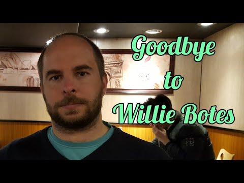 Goodbye to Willie Botes