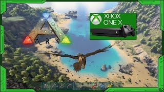 ARK SURVIVAL EVOLVED ON THE XBOX ONE X - (GAMEPLAY) - NO LAG AND MORE!