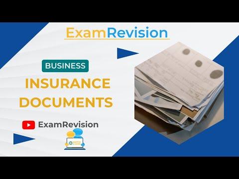 Insurance - Insurance Documents - Business JC