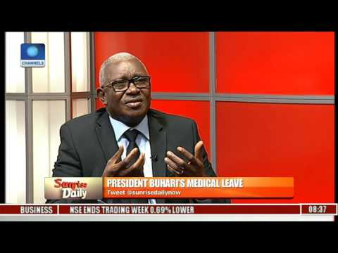 Analysing Buhari's Medical Leave With Abraham Ogbodo Pt 1
