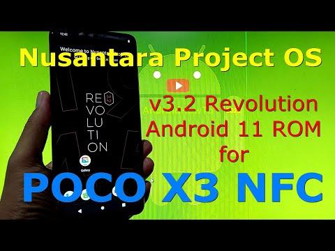 Nusantara Project OS v3.2 Official for Poco X3 NFC (Surya)