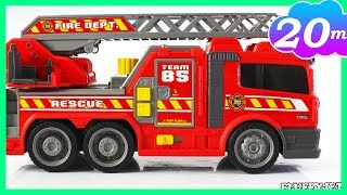 Firefighter Fire Station Fire Truck Engine Fun Learning for children