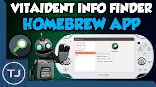 PS Vita VITAident System Info Finder Homebrew App!