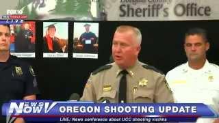 FNN: Sheriff Holds News Conference on Oregon Shooting