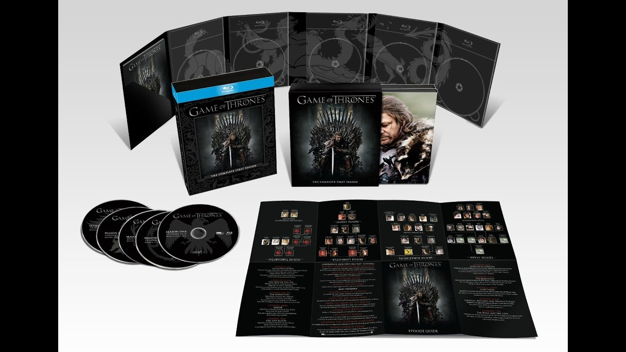 Game Of Thrones Dvd Box