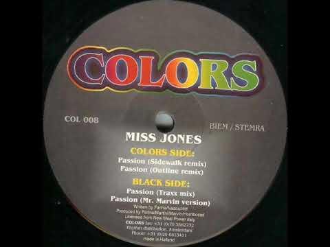 Miss Jones - Passion (Sidewalk Remix)