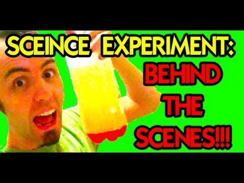 HOW TO MAKE A HOMEMADE LAVA LAMP (Science Experiment) Behind the Scenes with LaneVids