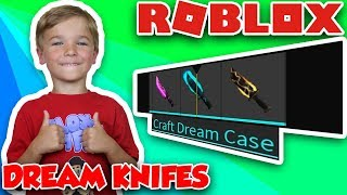 CRAFTING SUPER RARE DREAM KNIFE in ROBLOX ASSASSIN | NEW TIER CRAFTING KNIFES RECIPES