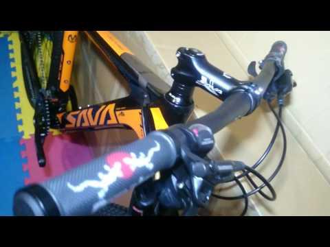 "SAVA Carbon fiber mountain bike DECKARO BASE 17""  27.5 ,  30 speed"
