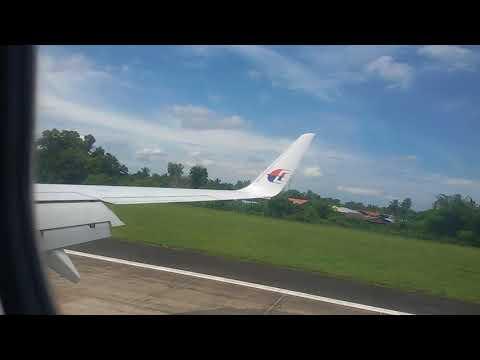 hard landing at sandakan airport