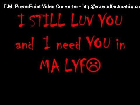 unbreak my heart...say you love me again...