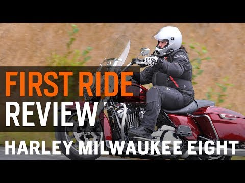 Harley Davidson Milwaukee Eight First Ride Review at RevZilla.com