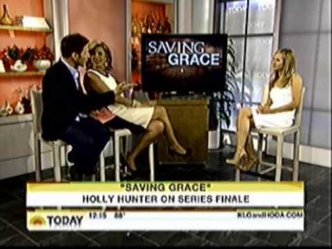 Holly Hunter Talking about the series finale of saving grace
