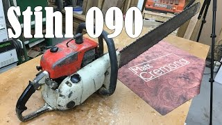Stihl 090 My New Chainsaw Mill Saw