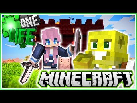 I Challenge Lizzie to Kill Me! | Minecraft One Life 2.0 | Ep.26