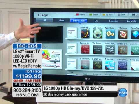 Lg 42 Smart Tv 1080p Wi Fi Led Lcd Hdtv With Magic Remote Youtube