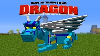 Minecraft - HOW TO TRAIN YOUR DRAGON - Another New Dragon[12]