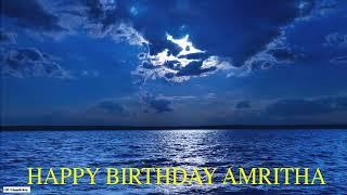Amritha  Moon La Luna - Happy Birthday