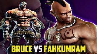 Fahkumram vs Bruce Irvin - Comparison