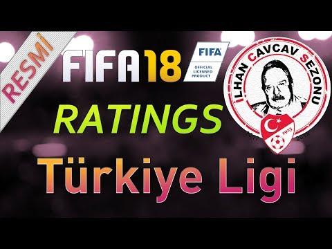 Fifa 18 Ratingleri (Resmi)  - Türkiye Süper Ligi
