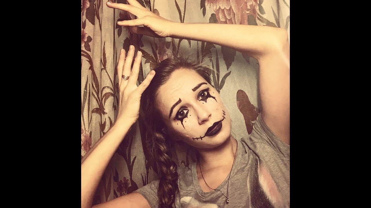 Простой макияж на Хэллоуин, создаем образ самостоятельно For 100