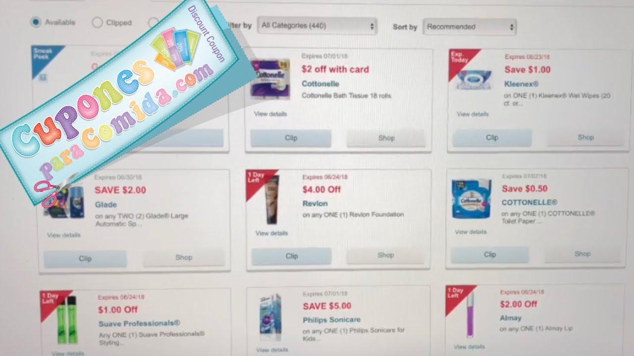 ad56cc150 Como buscar el cupon de Walgreens! - YouTube