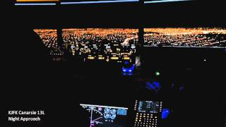 【Home Cockpit】KJFK Canarsie 13L Approach