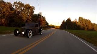 "1936 1935 Ford Chopped Pickup Hot Rod Rat Traditional SCTA Shop Truck ""Quiggle"", FORSALE"