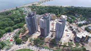 Жилой комплекс Казансу БРИЗ 3 съемка