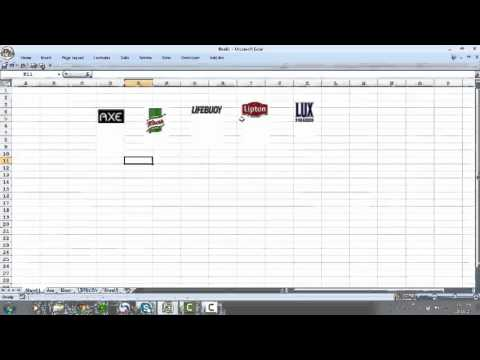 Embed picture link in excel cell