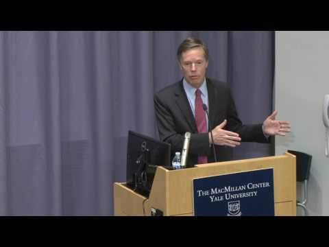 "Amb. Nicholas Burns: ""The Trump Administration's Global Foreign Policy Challenges"""
